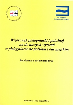 """Zapraszamy dozakupu książki pt.""""Wizerunek pielęgniarki ipołożnej natle nowych wyzwań wpielęgniarstwie polskim ieuropejskim."""""""