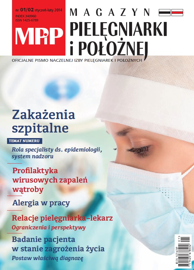 Magazyn Pielęgniarki iPołożnej numer 1-2/2014