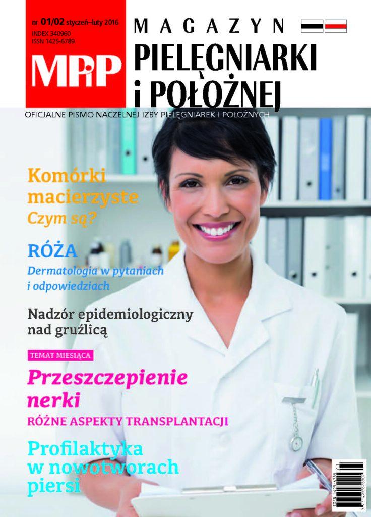 Magazyn Pielęgniarki iPołożnej 1-2/2016
