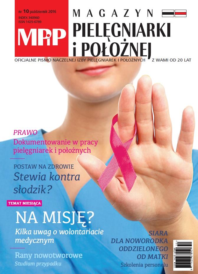 Magazyn Pielęgniarki iPołożnej 10/2016