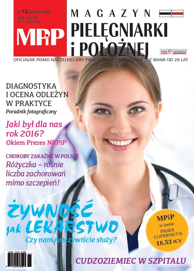 Magazyn Pielęgniarki iPołożnej 12/2016
