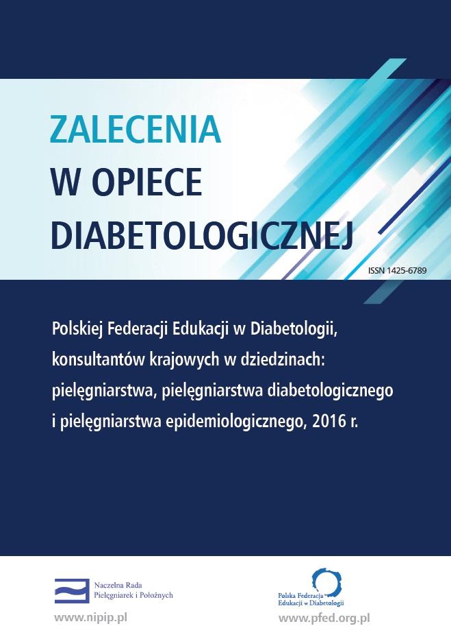 Zalecenia w opiece diabetologicznej 2016 r.