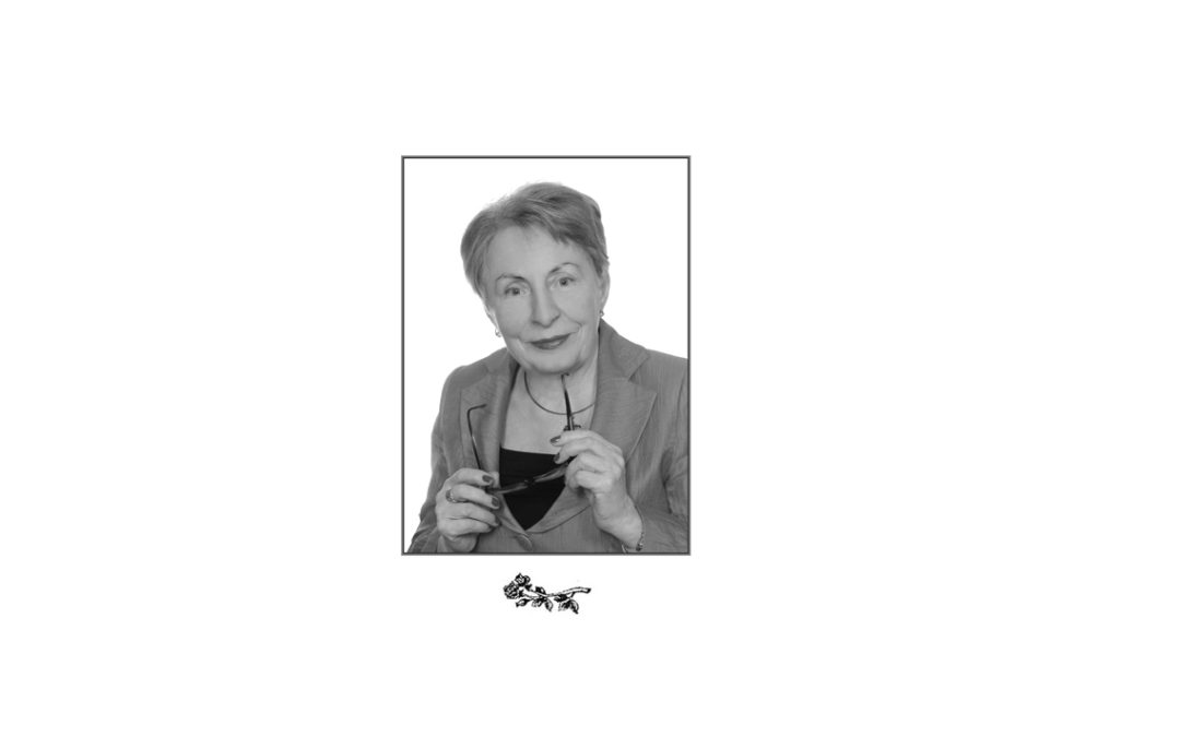 Odeszła od nas na zawsze Urszula Krzyżanowska-Łagowska