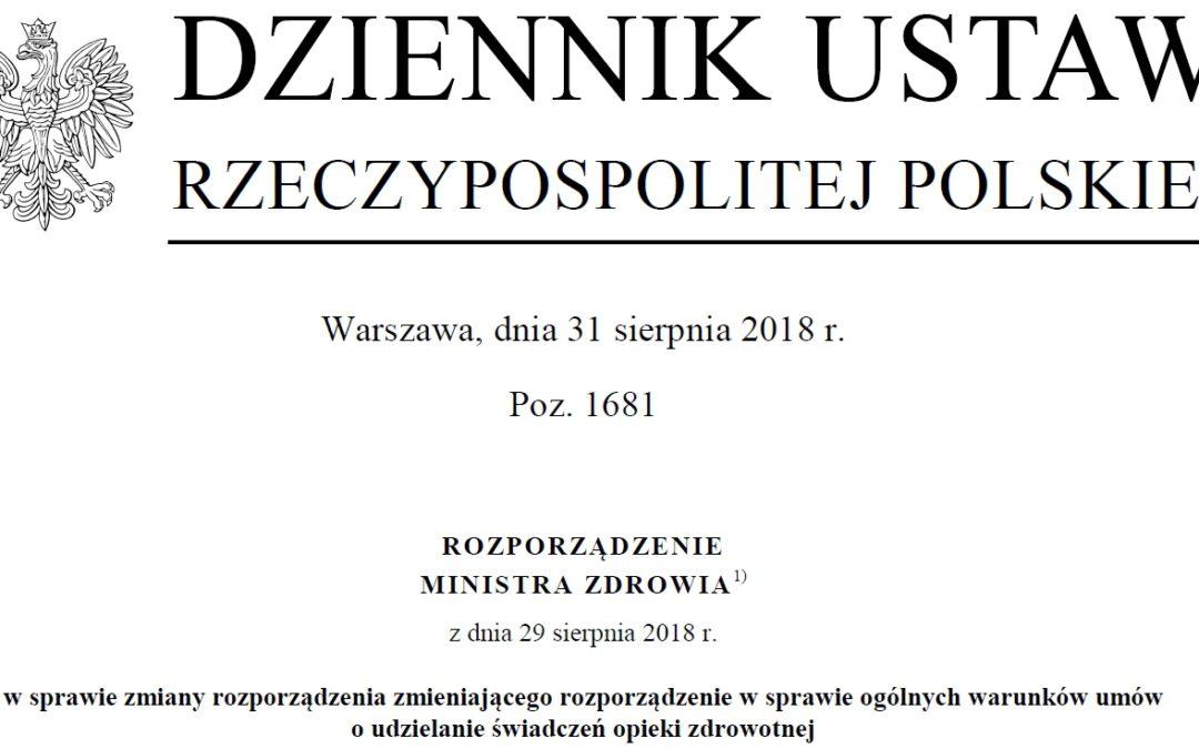 Kolejny krok w kierunku realizacji porozumienia z 9 lipca 2018 r.