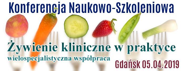 Informacja o konferencji żywieniowej 5.04.2019 Gdański Uniwersytet Medyczny