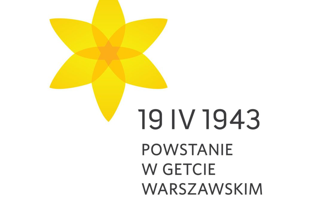 Akcja Żonkile, spotkania, spacer i koncert na 76. rocznicę wybuchu powstania w getcie warszawskim