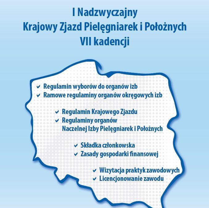 I Nadzwyczajny Krajowy Zjazd Pielęgniarek i Położnych VII kadencji 4-5 czerwca 2019 r.