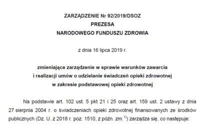 Zarządzenie Prezesa NFZ w sprawie podwyżek dla pielęgniarek i położnych w podstawowej opiece zdrowotnej