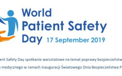 Światowy Dzień Bezpieczeństwa Pacjenta – notatka ze spotkania