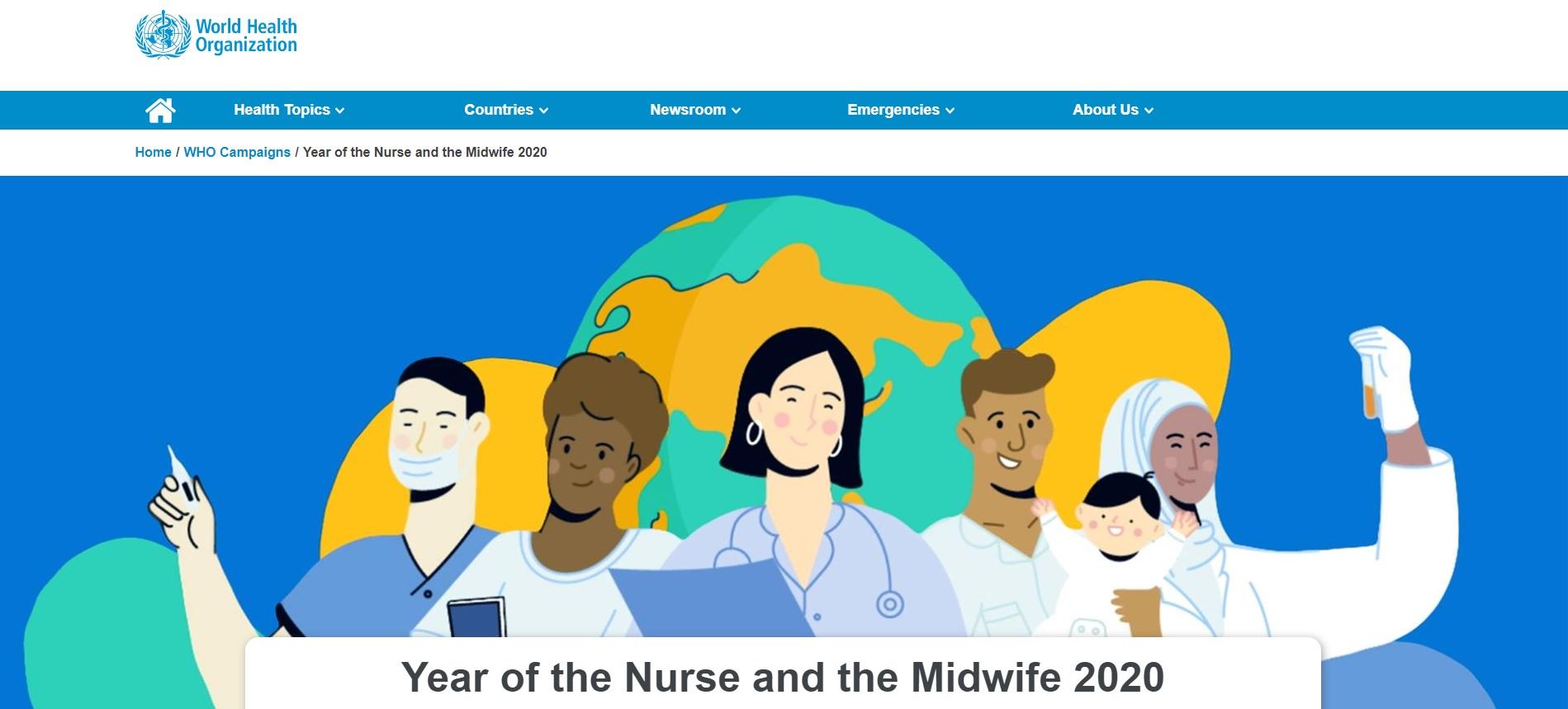 Rok 2020 Rokiem Pielęgniarki iPołożnej