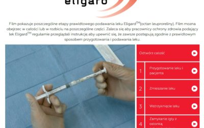 Prawidłowe podawanie leku Eligard – Film instruktażowy