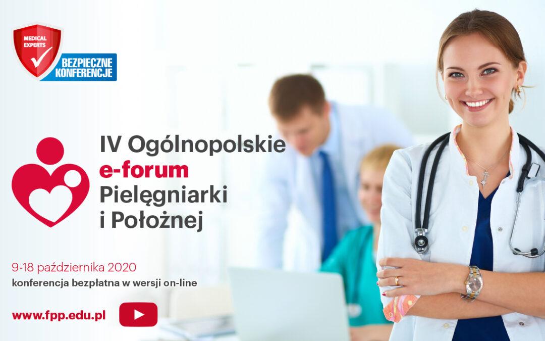 IV Ogólnopolskie Forum Pielęgniarki iPołożnej