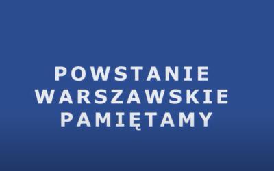 Naczelna Rada Pielęgniarek iPołożnych – Powstanie Warszawskie'44 – PAMIĘTAMY