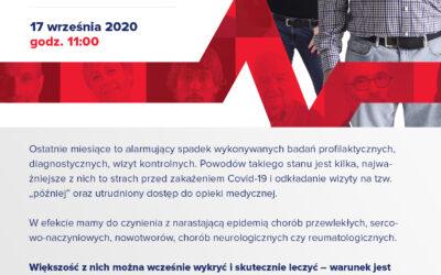Inauguracja ogólnopolskiej kampanii BADAM SIĘ! #BoChcęŻyć