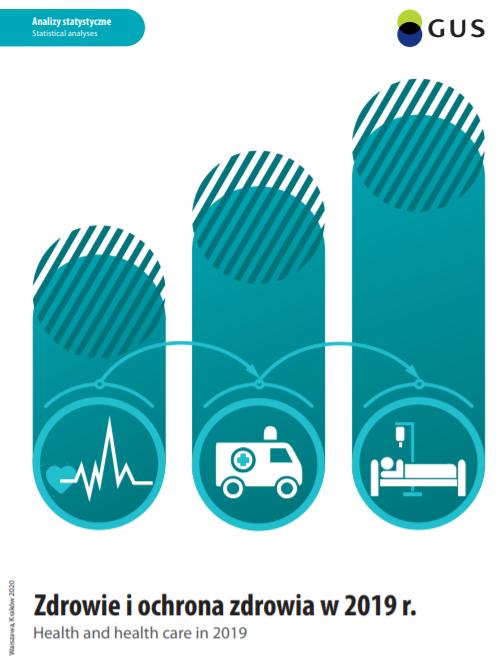 Główny Urząd Statystyczny opublikował wyniki badań kondycji zdrowotnej ludności Polski orazbadań dotyczących infrastruktury ifunkcjonowania systemu opieki zdrowotnej. Zdrowie iochrona zdrowia w2019 roku.