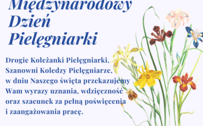Zofia Małas Prezes Naczelnej Rady Pielęgniarek iPołożnych składa życzenia wszystkim Pielęgniarkom\Pielęgniarzom zokazji Dnia Pielęgniarki (12 maja)
