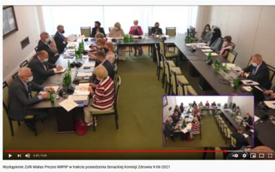 Senacka Komisja Zdrowia przyjęła poprawki zgłaszane m.in przezsamorząd zawodowy pielęgniarek ipołożnych